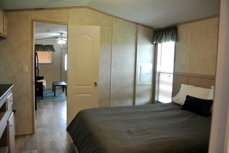 Whispering Oaks Tiny Hacienda Bed Room